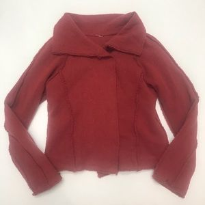 Free People wool double breasted jacket M